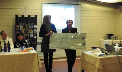 Il Lions Club Livorno Porto Mediceo dona circa 9.000 Euro alla Misericordia di Montenero