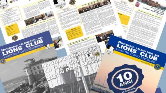 10 anni di Notiziario del nostro Club