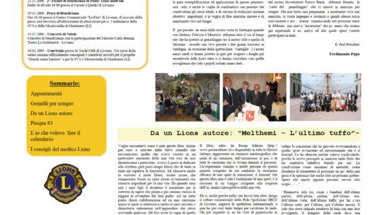 Notiziario Anno 2009 n. 02