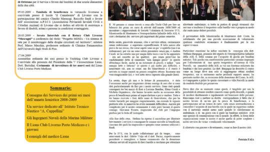 Notiziario Anno 2009 n. 03