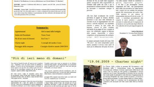 Notiziario Anno 2009 n. 04