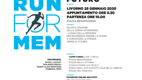 "Il Lions Club Livorno Porto Mediceo alla ""Run for Mem"""