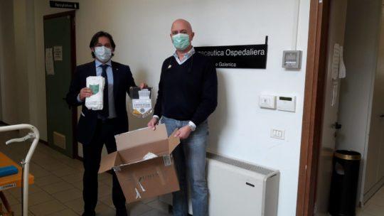 Il club dona 200 mascherine FFP2 all'Ospedale di Livorno
